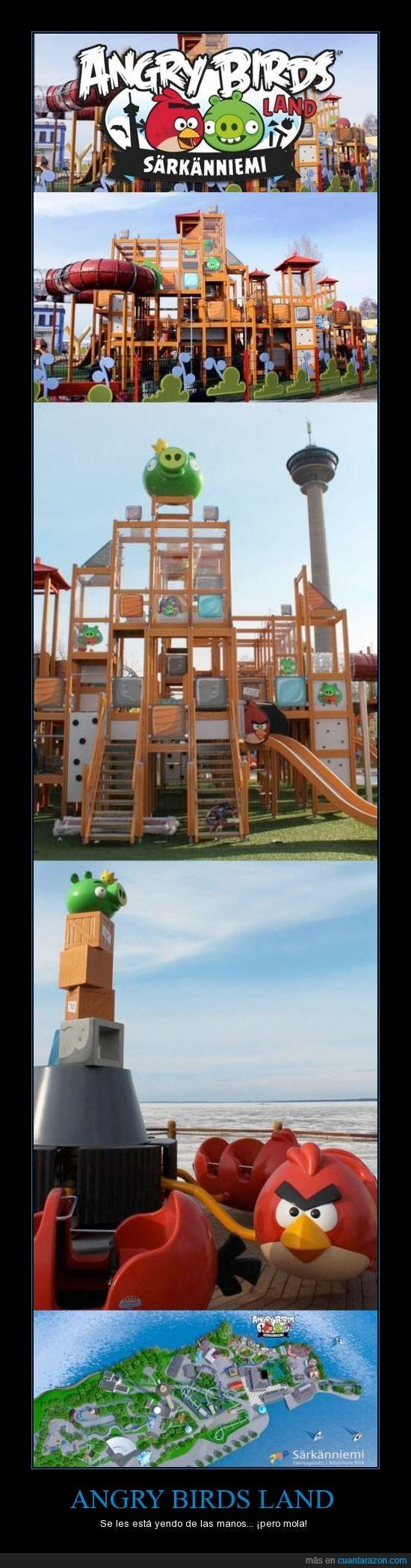 angry birds,atracciones,finlandia,parque temático