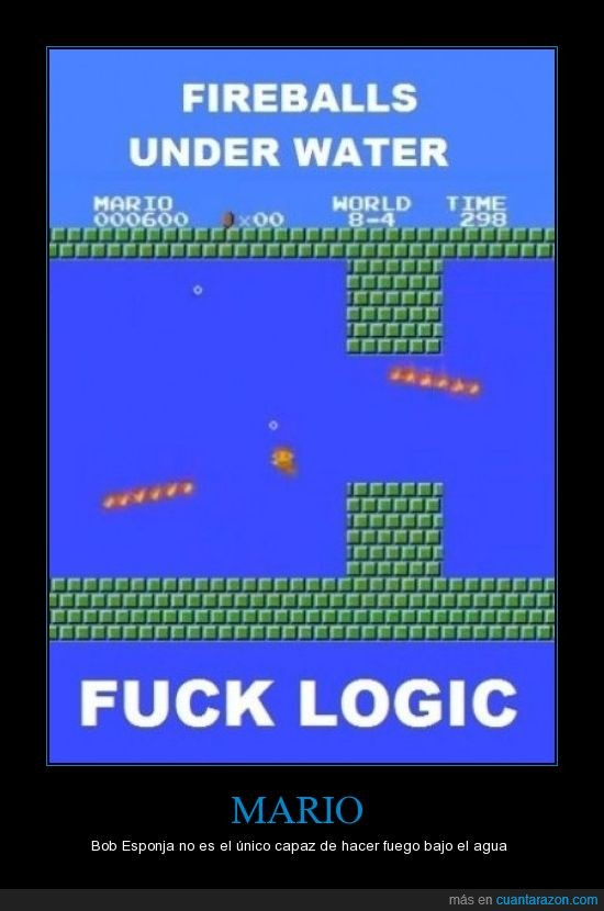 Agua.,Fuego,Mario