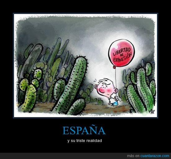 cactus,españa,expresión,globo,libertad