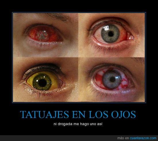 drogada,loca,miedo,ojos,tatuaje