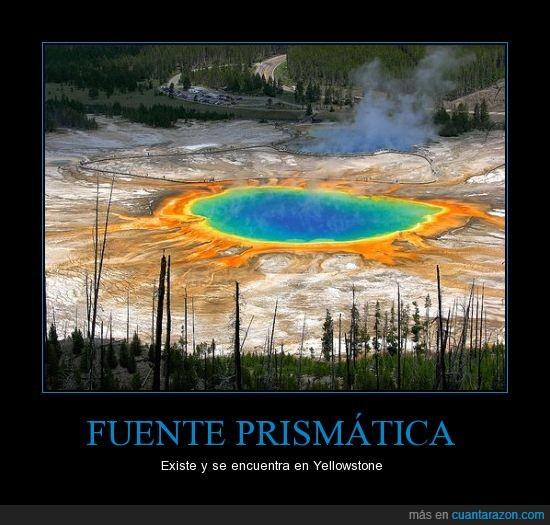 EEUU,fuente,prismatica,Yellowstone