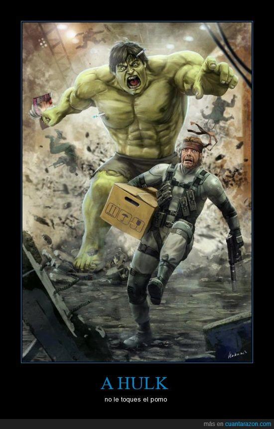 caja,correr,hulk,metal gear,soldado,solid snake