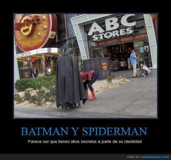 batman,secreto,spiderman