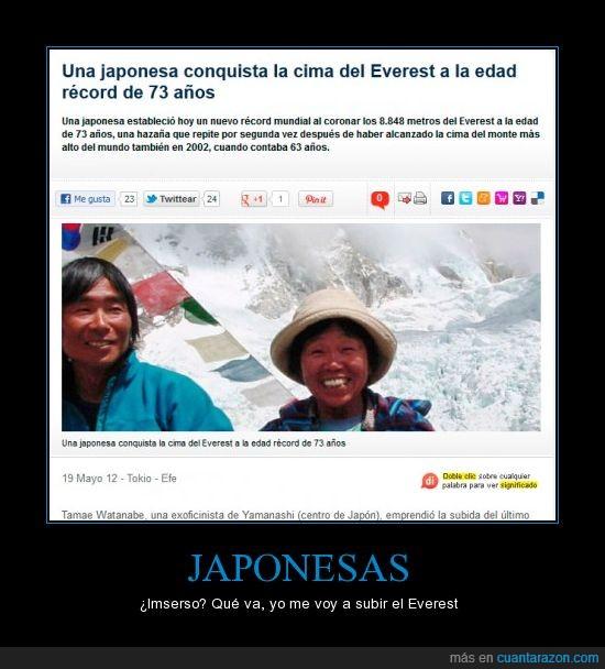 bajar,escalar,everest,japon,Japonesa,montaña,nipon,subir
