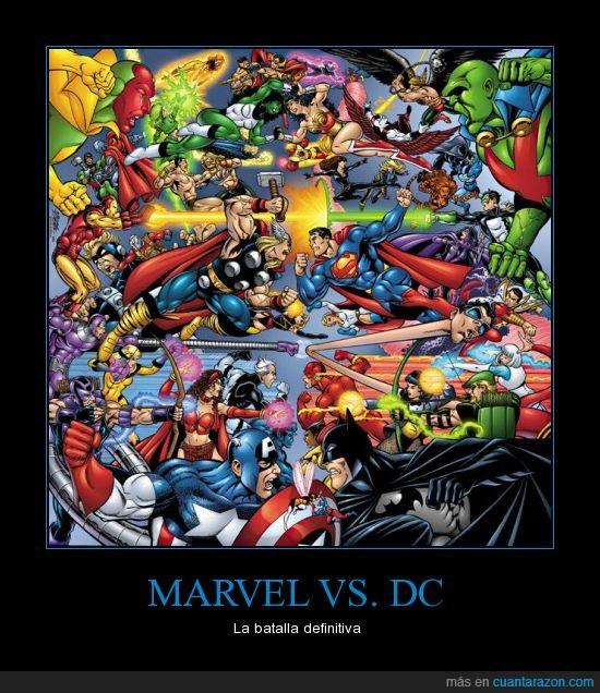 batalla,brutal,DC,epico,heroes,marvel