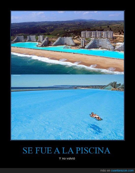 agua,bajar,chile,hotel,larga,mañana,mundo,piscina