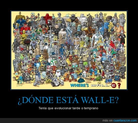 droides,robots,wall-e,wally