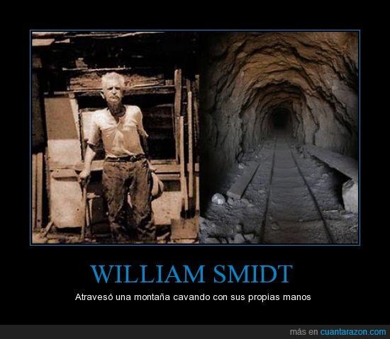 atravesar,cavar,hombre,manos,metros,montaña,túnel