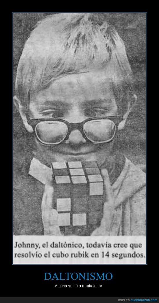cubo,daltonismo,johnny,rubik,ventajas