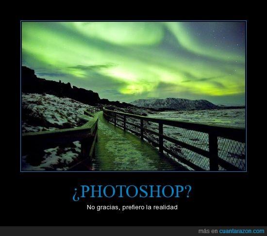 aurora,boreal,paisaje,photoshop,precioso