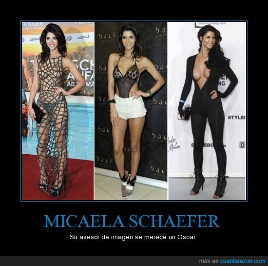 micaela schaefer,posar,transparencias,vestidos