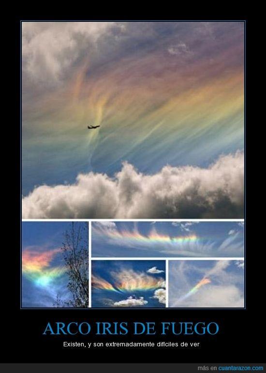 Arco iris,cielo,clima,fuego