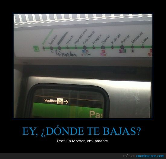 barcelona,metro,Mordor