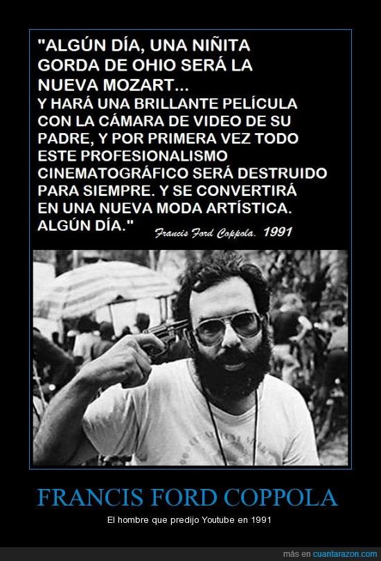 Apocalypse Now,Francis Ford Coppola,Padrino,predicción,Youtube