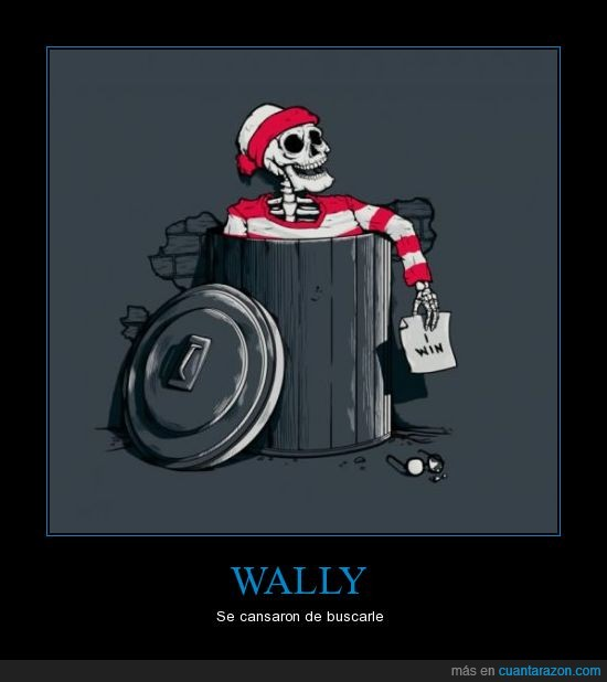 basura,encontrar,esqueleto,muerto,wally