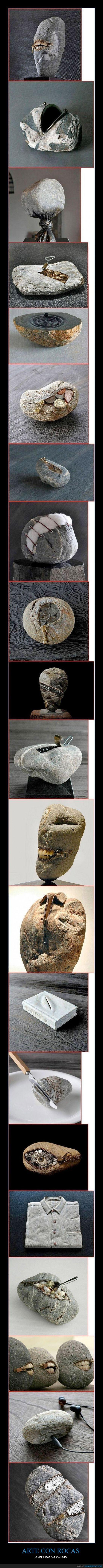 arte,auricular,boca,casco,cremallera,cuchillo,diente,engranaje,escultura,nudo,ojo,roca,sistema