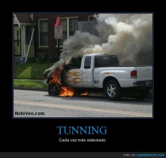 coche,elaborado,llamas,Tunning