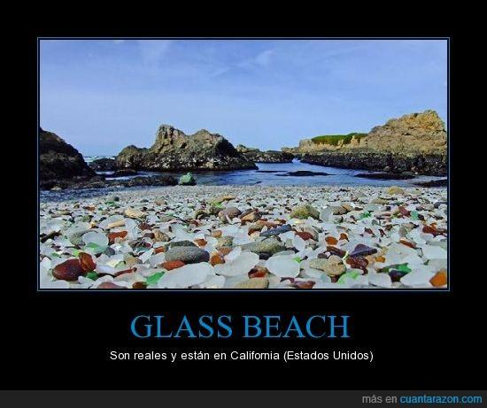 california,color,cristal,glass,piedras,playa,vidrio
