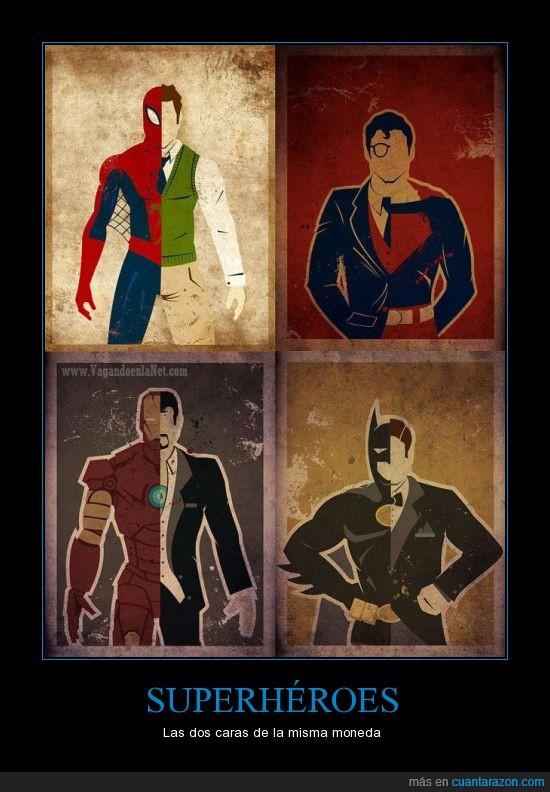 batman,Chufrú!,iron man,spiderman,superhéroes,superman