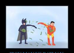 Enlace a IRON MAN VS BATMAN