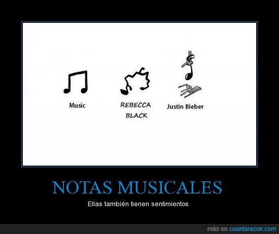 musica,notas,notas musicales,rebecca black