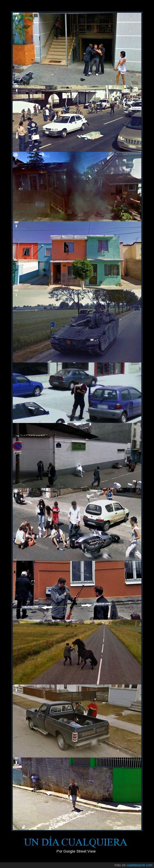 calles,google street view,imagenes,violencia