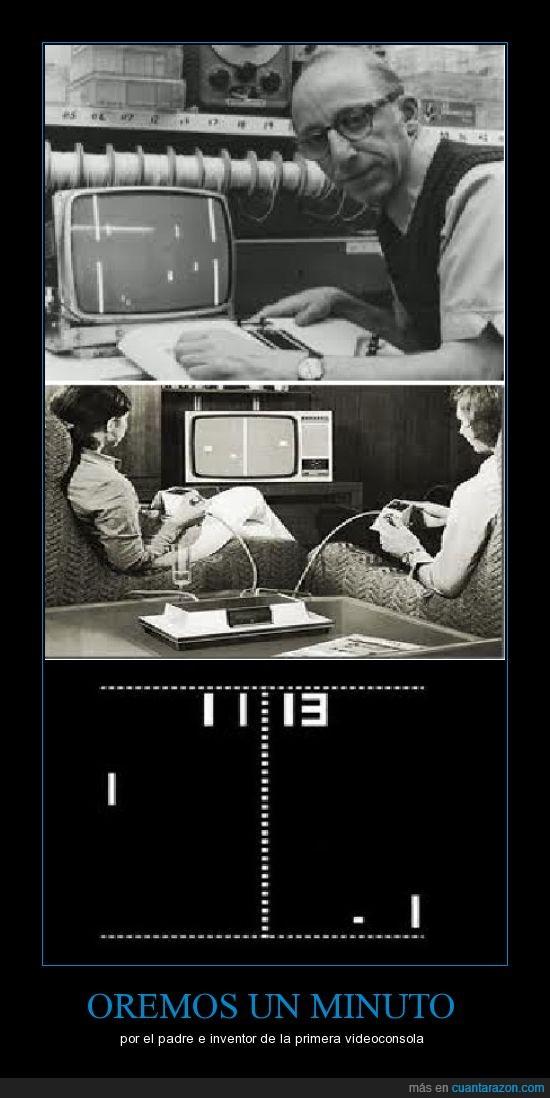 minuto,orar,padre,primera videoconsola