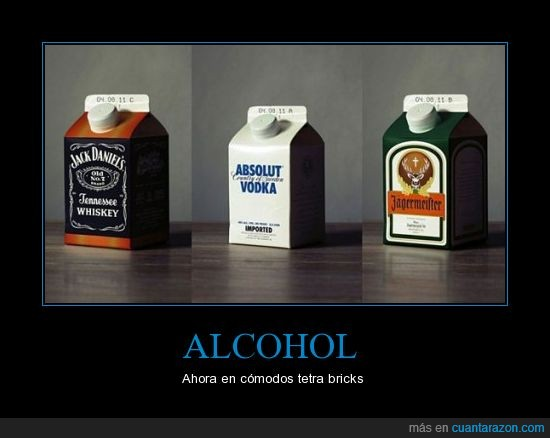 absolut vodka,alcohol,jack daniels,jagermeister,tetra brick