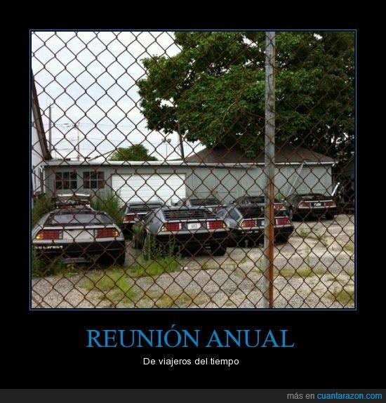 coches,parking,regreso al futuro,viajeros del tiempo