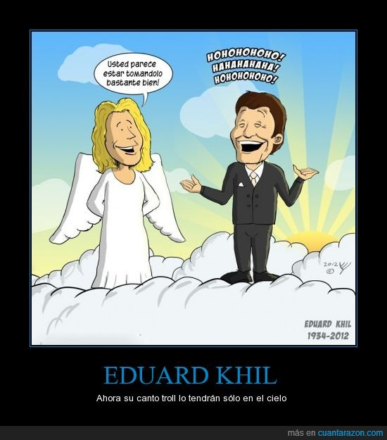 angeles,cielo,Eduard Khil,homenaje,muere,troll song