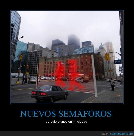 calle,ciudad,edificios,gante,modernidad,rojo,semáforo,urbe