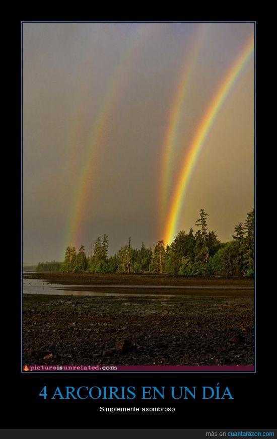 arcoiris,cielo,imagen,rainbow,vez
