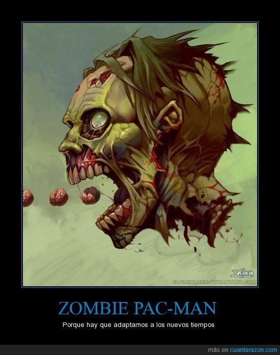Mauricio Herrera,Pac Man,Zombie