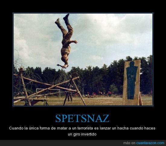 anti-terrorista,entrenamiento,fuerzas especiales,hachas,rusos,Spetsnaz
