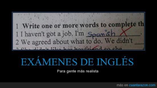 Crisis,Exámen,Inglés,Trabajo