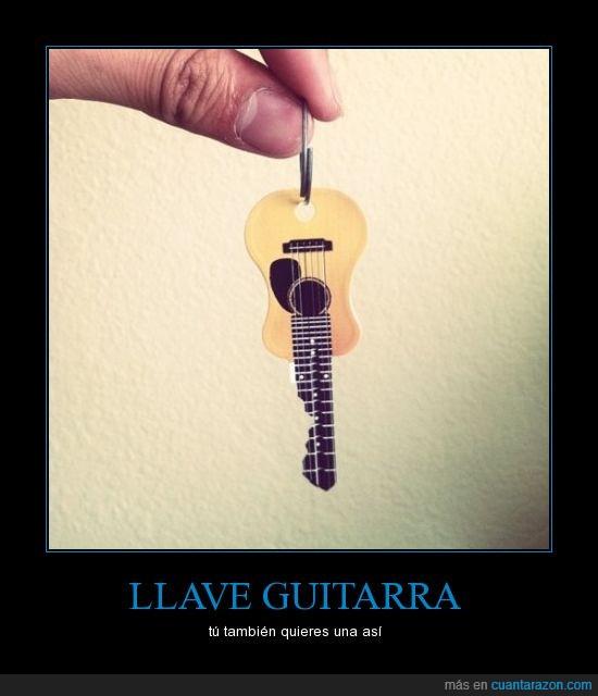 funda,guitarra,llave