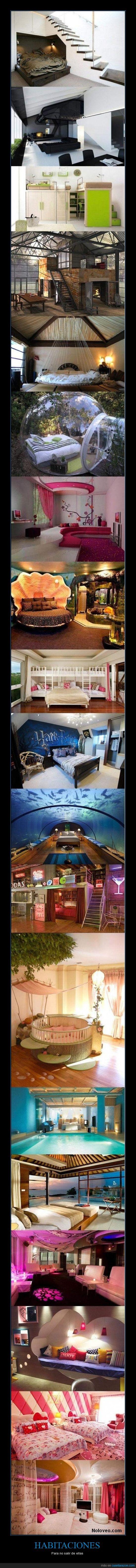 agua,cama,diseñadas,friki,habitaciones,harry potter,rosa