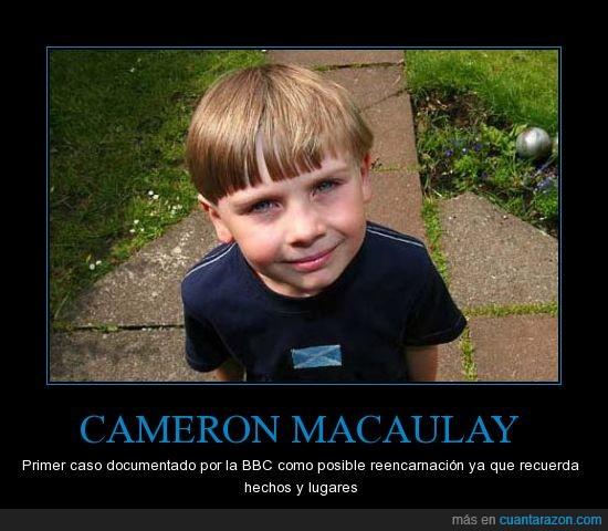 BBC,cameron macaulay,reencarnacion