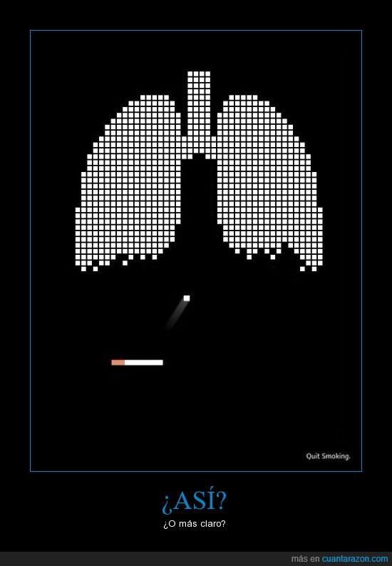 asi,cigarrillo,claro,descripcion,gráfica,mas,o,perjudicial,pulmones,salud