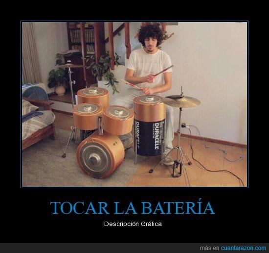 ba dum tss,bateria,duracell,instrumentos,musica,tocar