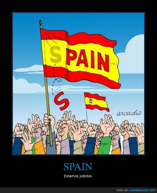 bandera,cae,dolor,españa,letra,pain,spain