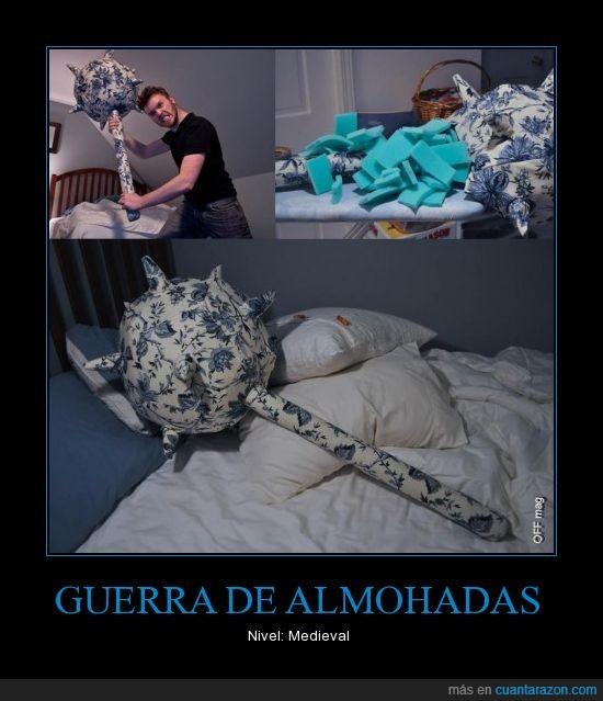 Almohada,Guerra,Maza,Medieval