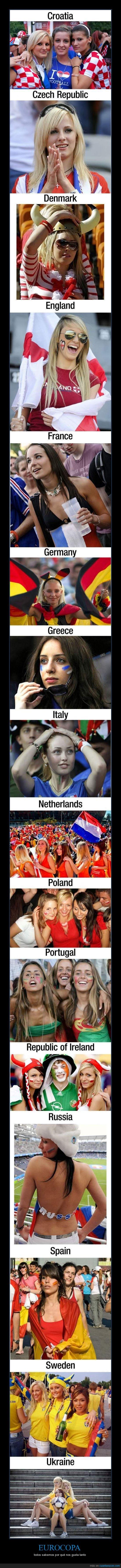 buenas,chica,eurocopa,guapa,pais,seleciones,tias