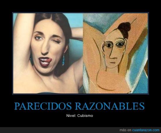 arte,cuadro,fea,Picasso,Rosi de Palma