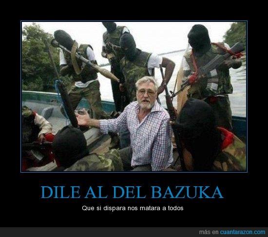 Lanzacohetes,Matar,Terrorista,Todos,Viejo