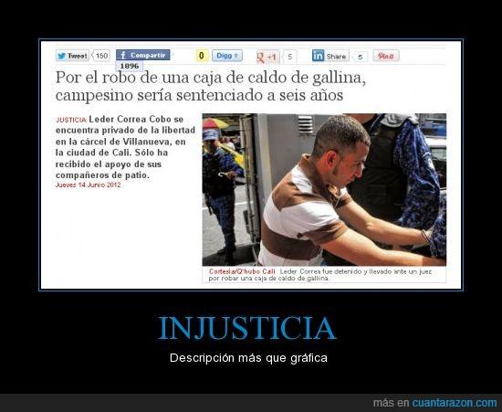 Colombia,Injusticia,Robo,Semana