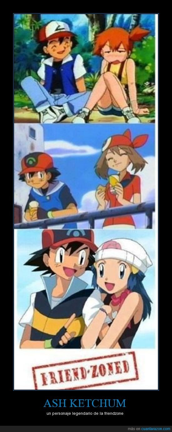 ash,chicas,friend zone,ketchum,misty,pokemon