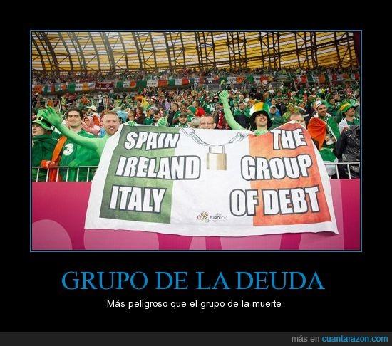 deuda,dinero,España,eurocopa,grupo,humor,Irlanda,Italia