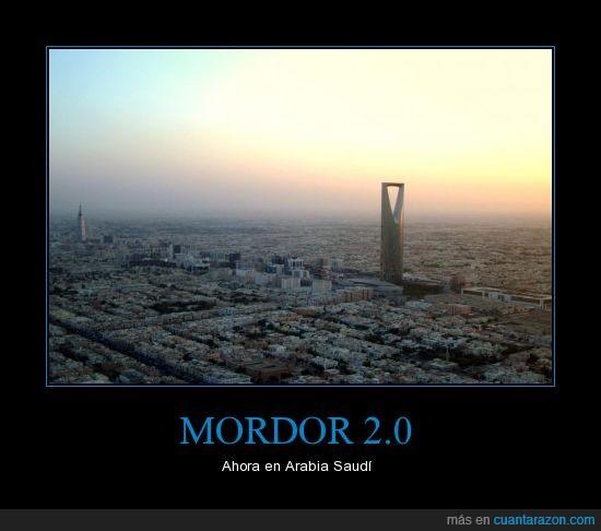 El Señor de los Anillos,Mordor,Sauron