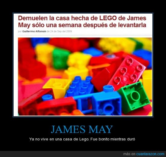 casa,demoler,fail,James May,lego